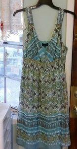 NWOT Mlle Gabrielle Summer Maxi Dress Size 2X